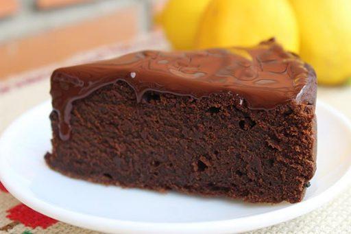 Brownie sin gluten, sin azúcar y sin lactosa
