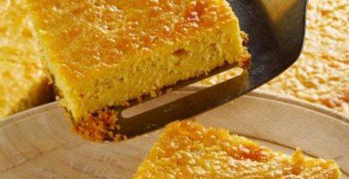 Torta de jojoto venezolana