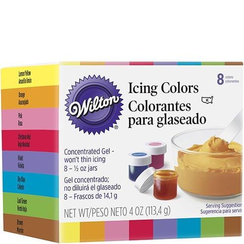 Colorantes comestibles para repostería